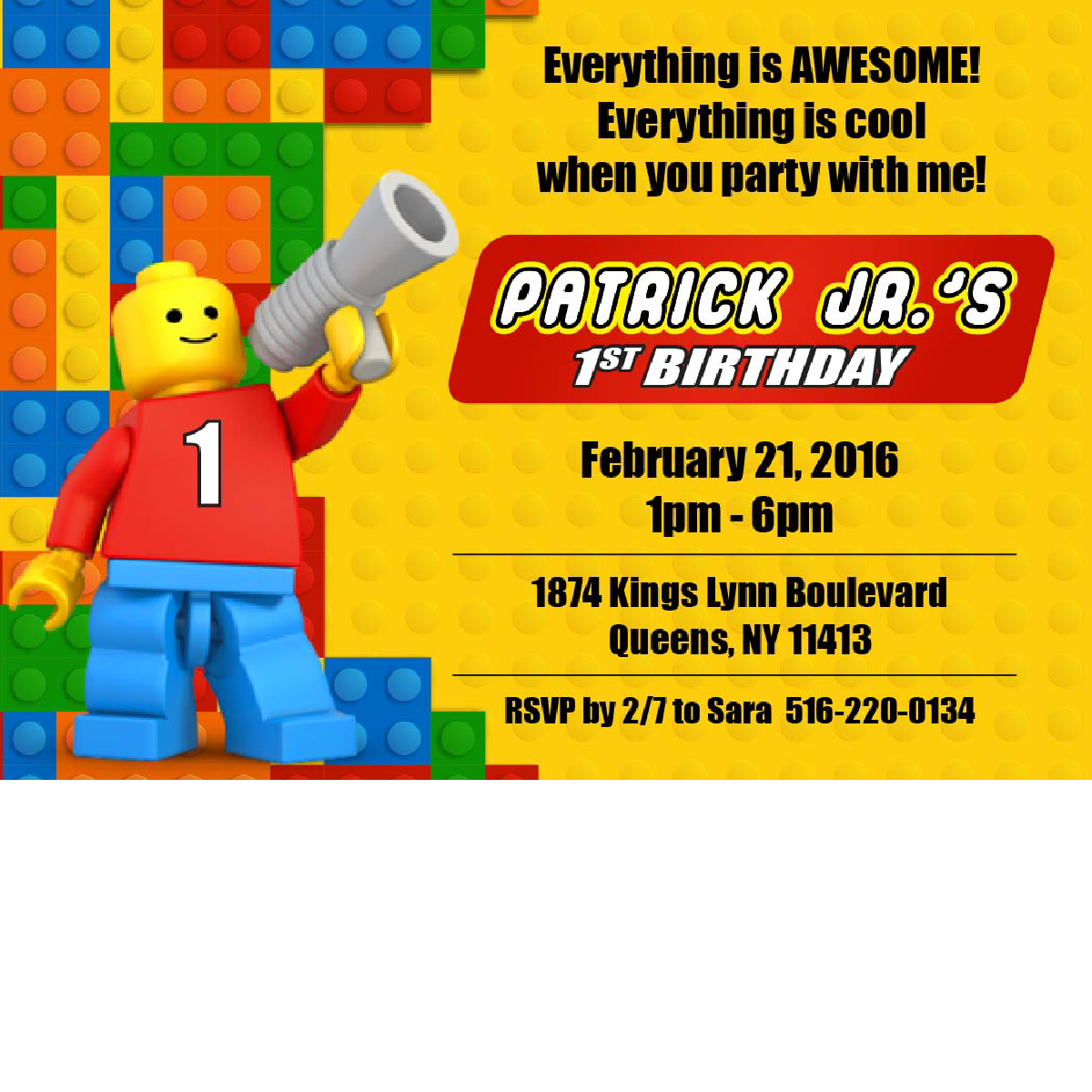 lego birthday invitations blackline