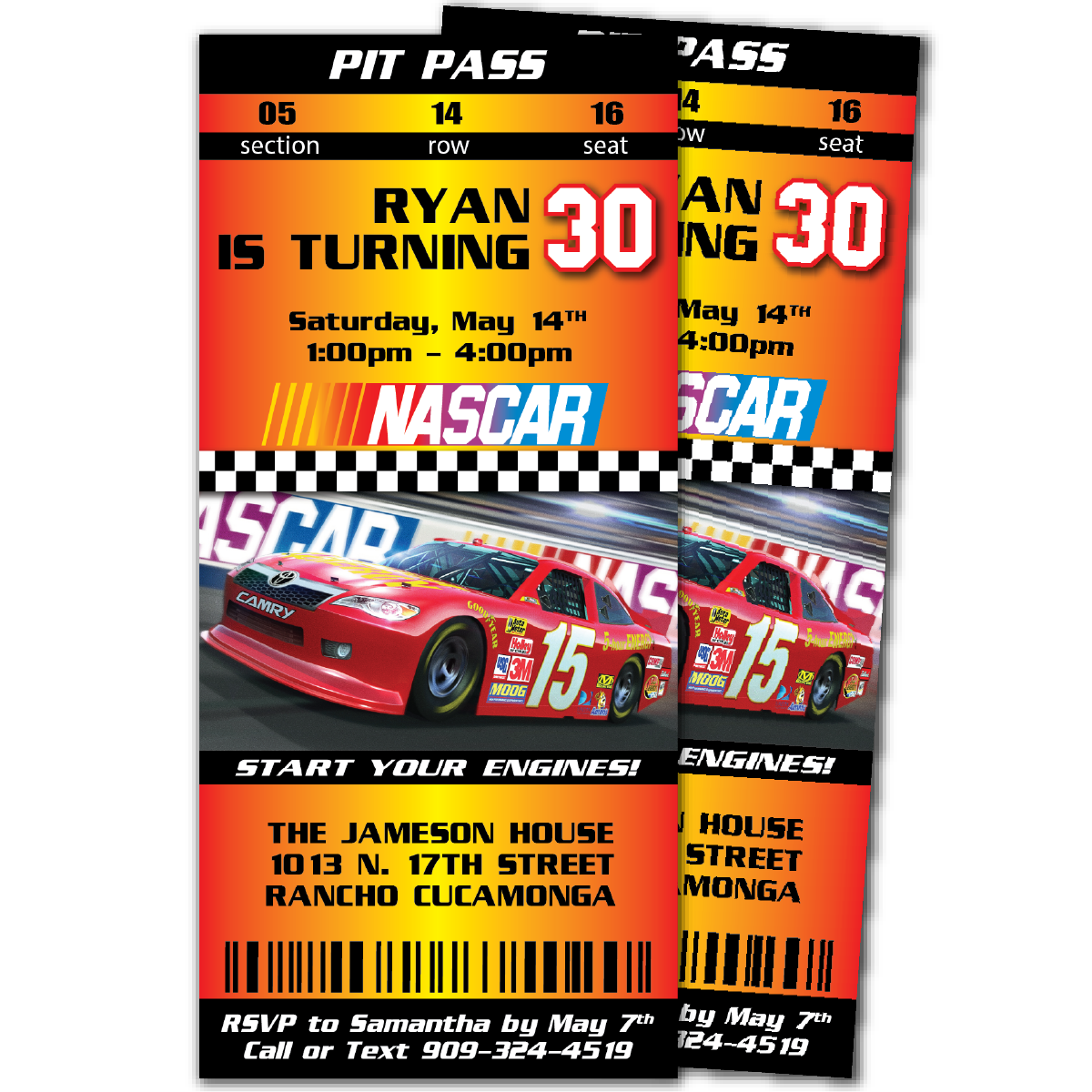 Nascar birthday invitations blackline nascar birthday invitations filmwisefo Choice Image